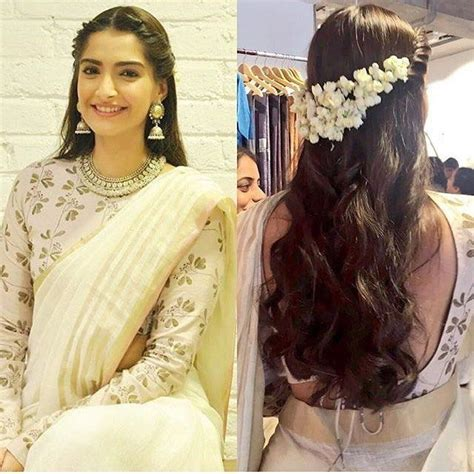 hairstyles for saree simple these hair styles that go well with saree makeup