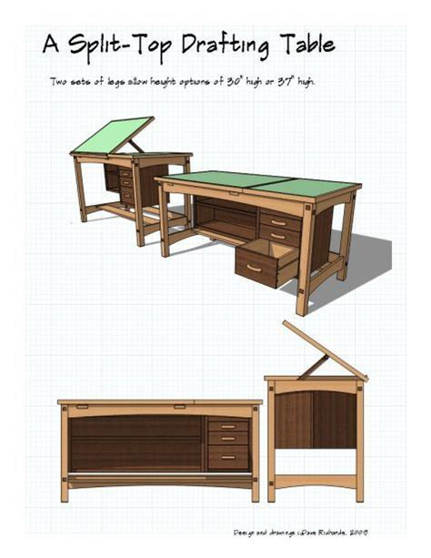 Simple Drafting Table Simple Patterns For Wood Carving Woodworking Projects Plans