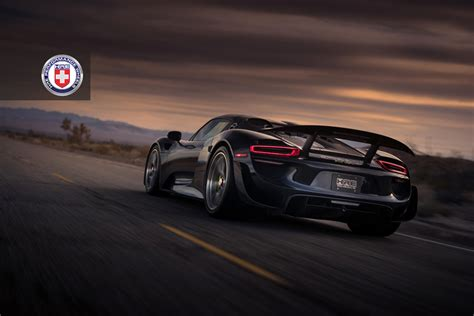 porsche 918 spyder black tuningcars black porsche 918 spyder weissach adorned with