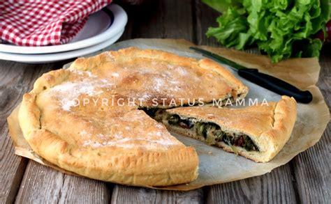 ricetta calzone alla napoletana ricette ricetta pizza di scarola napoletana
