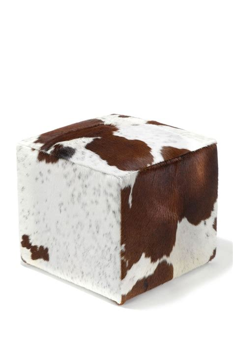cowhide ottomans 1000 ideas about cowhide ottoman on pinterest western
