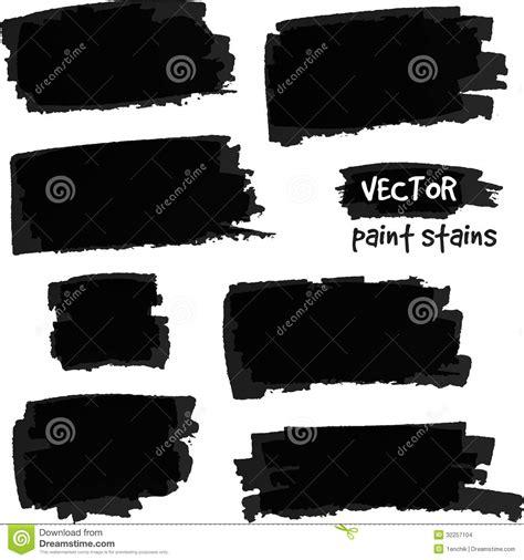 eps format paint net black paint spots vector set stock vector image 32257104