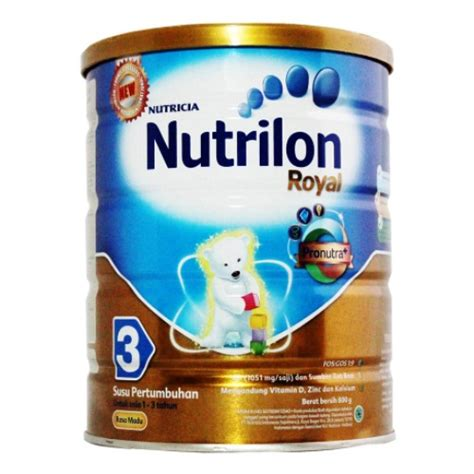 Nutrilon Royal 0 6 Bulan Jual Nutrilon Royal 3 Pronutra Madu 800gr Toko