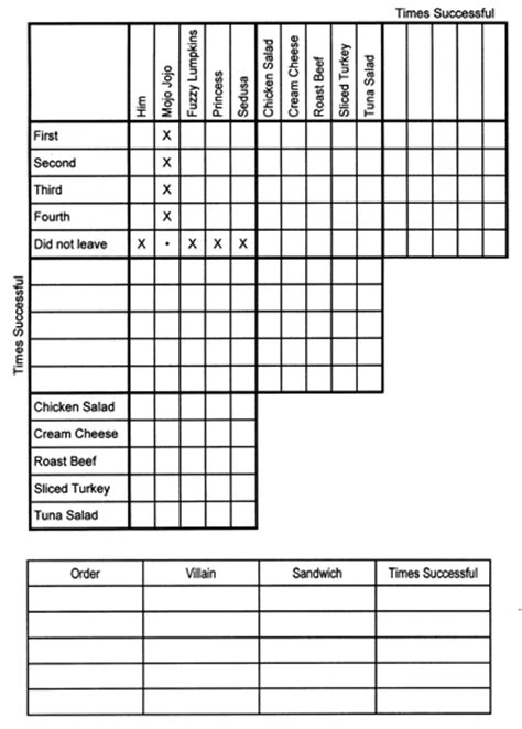 Printable Mystery Logic Puzzles | image gallery mystery puzzles