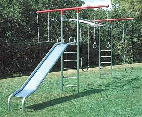 Monkey Bars For Backyard by Metal Swing Sets Swing Sets And Swings On