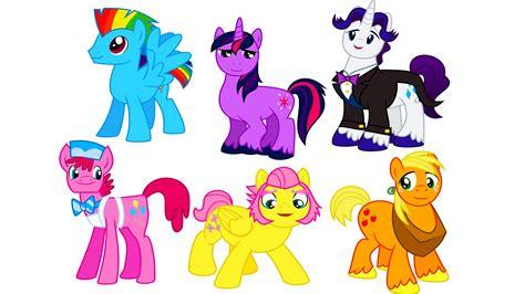my boy color my pony transforms into boys gender