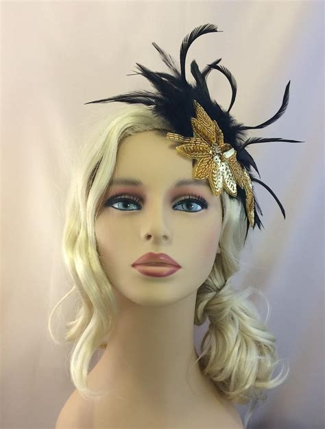 gatsby headpieces the great gatsby headpiece gatsby headband 1920s flapper