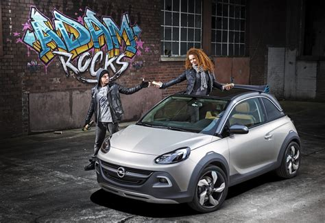 opel adam rocks opel adam rocks city car crossover concept revealed