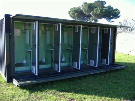 bagni ecologici prezzi servizi igienici su container iso 1c esercito italiano
