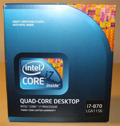 I7 870 2 9 Box Sc 1156 intel i7 870 custom pc builds