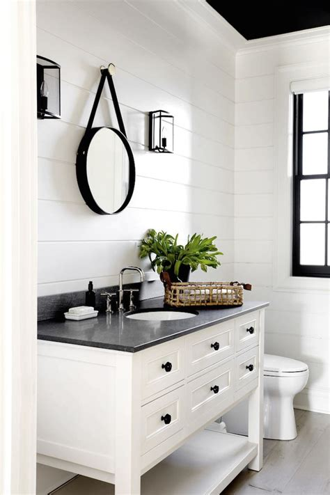 black vanity bathroom ideas best 25 black white bathrooms ideas on black