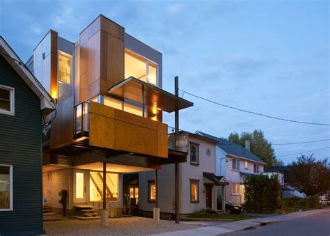 slim style narrow house is a masterpiece of modern design