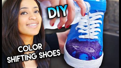 color changing paint with water how to color changing shoes with water heat solar