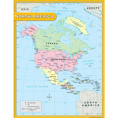 america map of resources america map chart tcr7655 created resources