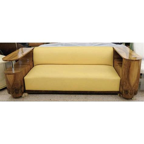 art deco sofas for sale art deco leather sofa france circa 1935 for sale at 1stdibs