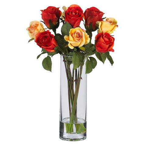 Roses Vase by Flowers In A Vase Pictures Gt Silk Arrangements