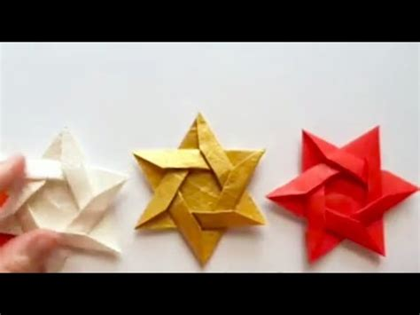 How To Make An Origami Of David - origami of david