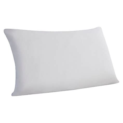white bed pillows sleep essentials memory foam bed pillow white standard