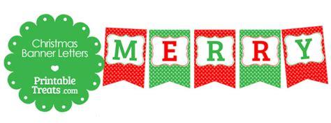printable letters merry christmas merry christmas polka dot banner letters printable