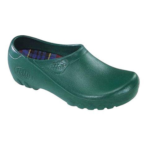 garden shoes jollys s green garden shoes size 10 lfj grn