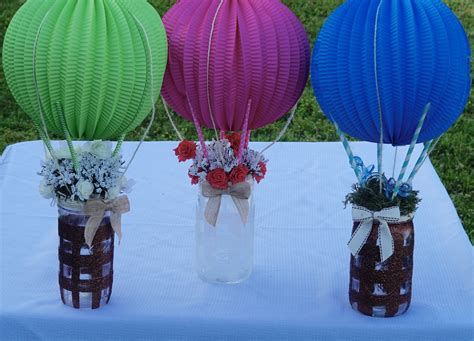 Baby Shower Diy Centerpieces by Diy Up Up And Away Baby Shower Centerpiece