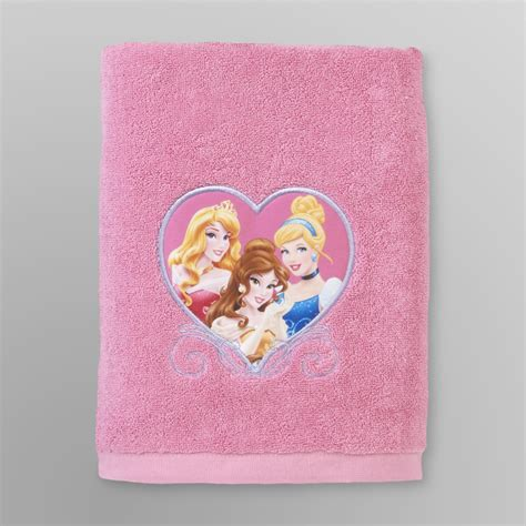 disney princess bathroom disney princess girl s bath towel