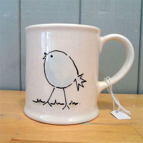 ceramic mug design ideas personalised hand painted ceramic bird mug by fired arts