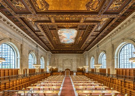New York Library Reading Room by Photos After Two Year Renovation Nypl S Historic