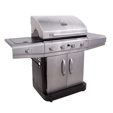 char broil 480 4 burner stainless steel gas grill with