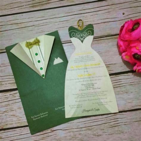 Jual Undangan Pernikahan Lucu 6 4 contoh undangan pernikahan unik pilihan