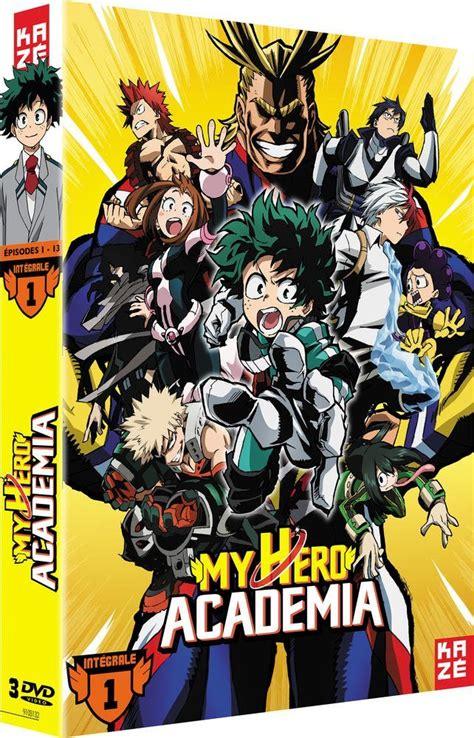libro my hero academia 4 my hero academia en dvd et blu ray en ao 251 t