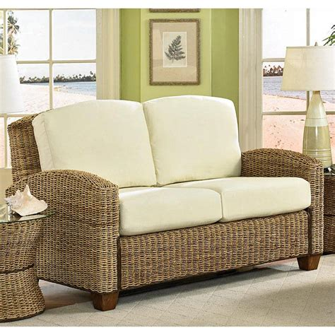 rattan living room chair wicker furniture isn t just for outdoors it looks great