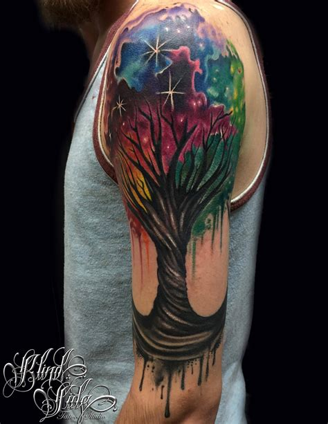 life tree tattoo tree of sleeve www pixshark images