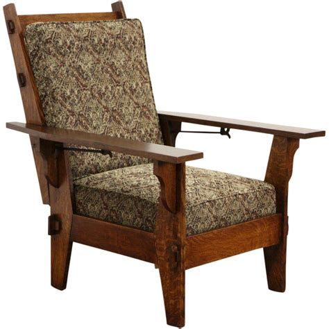 morris recliner chair antique morris chair recliner antique furniture