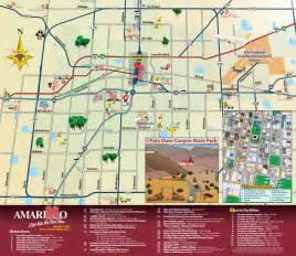 amarillo map of attractions in amarillo map amarillo tx mappery