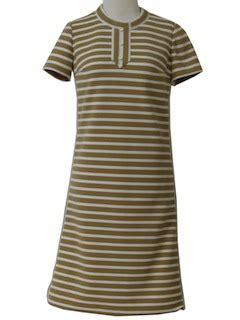 Lower V Shape Knit Dress vintage dresses at rustyzipper vintage clothing page 6