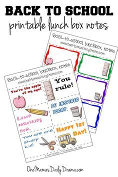 back to school lunch box planner organized 31 freebies printables downloads on pinterest envelope