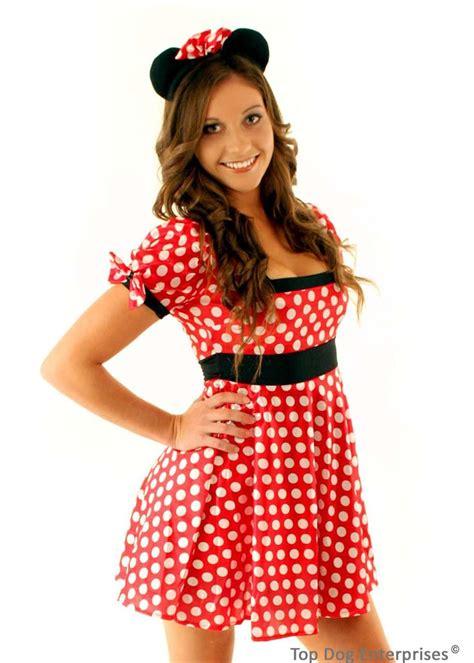 Dress Katun Mini Mouse Import mini mouse costume fancy dress up new disney ebay