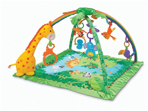Rainforest Baby Play Mat by Fisher Price Rainforest Melodies And Lights Deluxe