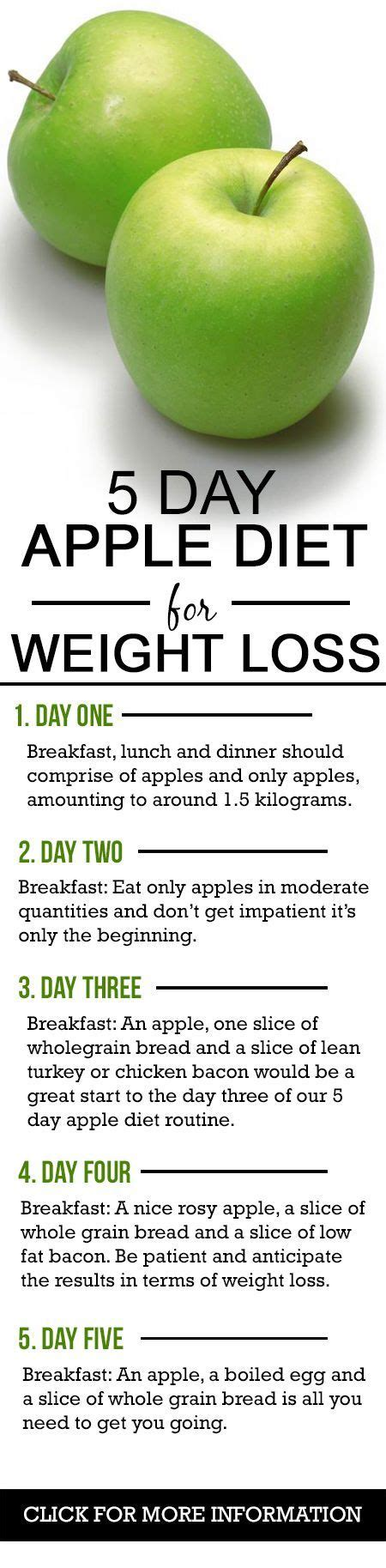 5 Day Apple Detox Diet by Best 25 Weight Loss Tricks Ideas On Weight