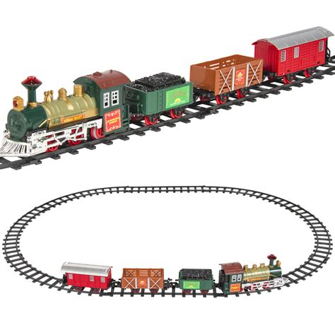 classic train set for kids with music and lights battery