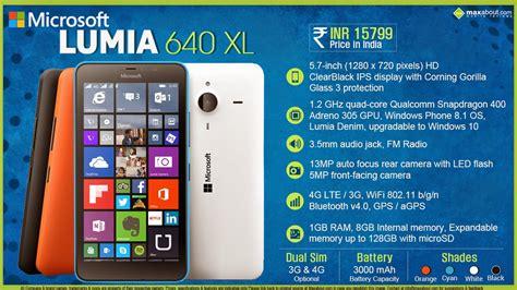 Microsoft Lumia 640 microsoft lumia 640 and 640 xl cool new tech