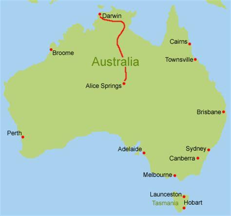 Brief Schweiz Australien Dauer Routenvorschlag Australien Northern Territory