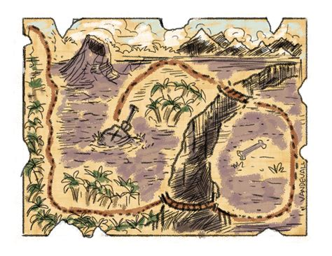 printable pirate maps treasure map 2 tim van de vall
