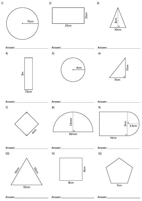 geometric worksheet answers circle geometry worksheets with answers geometry 3d shapes and surface area on