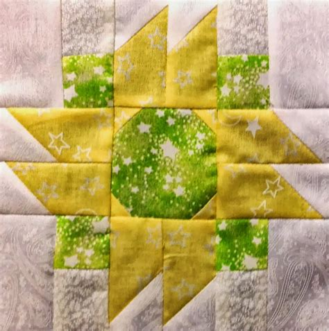 Sunflower Quilt Block Pattern by Butterz State Fair Quilt Blocks