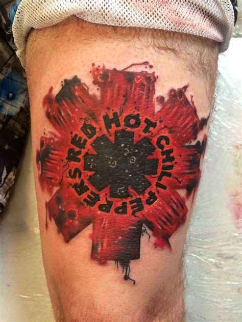 red hot chili peppers tattoo designs studio glasgow land ahoy parlour