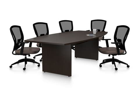 Black Boardroom Table Discuss In Big Class And Elegance With Black Conference Table Because Office Also Need To Be