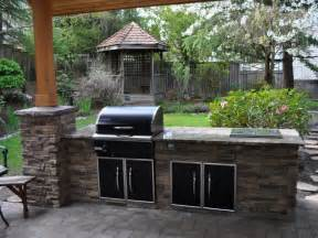 Landscape Kitchen Backyard Bbq Ideas Marceladick