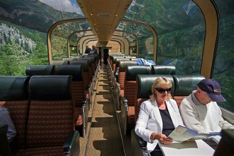 Dome Home Interiors by Canada Travel Via Rail Makes Improvements To Train Travel